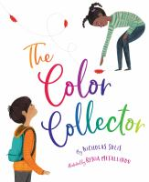 The color collector Book cover