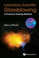 Laboratory scientific glassblowing : a practical training method  Cover Image