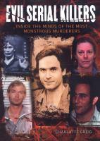 Evil serial killers Book cover