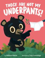 Those are not my underpants! Book cover