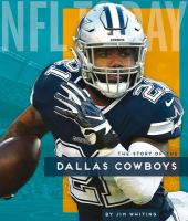 The story of the Dallas Cowboys Book cover