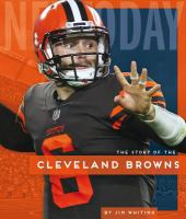 The story of the Cleveland Browns Book cover