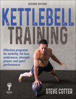 Kettlebell training Book cover