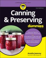 Canning & preserving Book cover