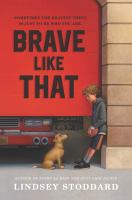 Brave like that Book cover