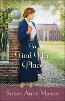 To find her place Book cover