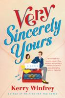 Very sincerely yours Book cover