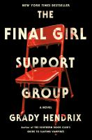 The final girl support group Book cover