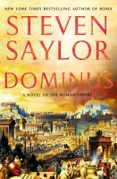 Dominus : a novel of the Roman Empire Book cover