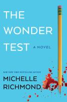 The wonder test : a novel Book cover