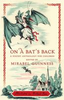 On a bat's back : a poetry anthology for children Book cover