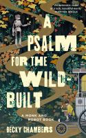 A psalm for the wild-built Book cover
