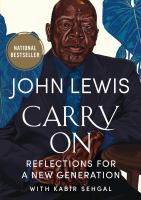 Carry on : reflections for a new generation Book cover
