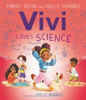 Vivi loves science Book cover