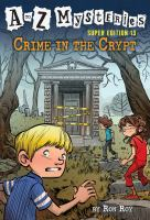 Crime in the crypt Book cover