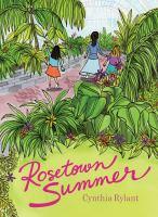 Rosetown summer Book cover