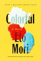 Colorful : a novel Book cover
