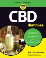 CBD for dummies Book cover