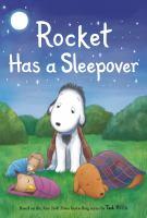 Rocket has a sleepover Book cover