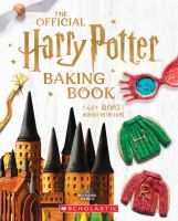 The official Harry Potter baking book Book cover