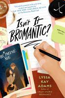 Isn't it bromantic? Book cover
