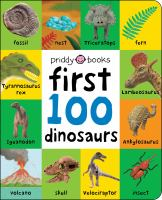 First 100 dinosaurs Book cover