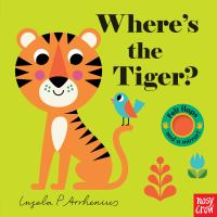 Where's the tiger? Book cover