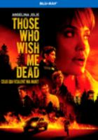 Those who wish me dead Book cover