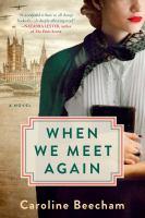 When we meet again Book cover
