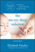 The no-cry sleep solution : gentle ways to help your baby sleep through the night  Cover Image