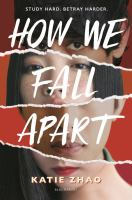 How we fall apart Book cover