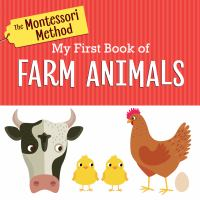 My first book of farm animals Book cover