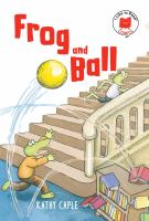 Frog and ball Book cover