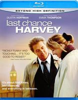 Last chance Harvey Book cover