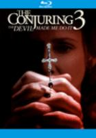 The conjuring 3. Devil made me do it Book cover