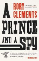 A prince and a spy Book cover