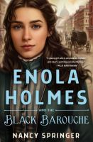 Enola Holmes and the black barouche Book cover