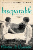 Inseparable a never before published novel Book cover