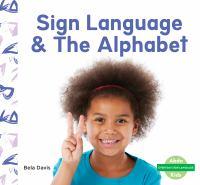 Sign language & the alphabet Book cover
