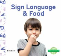 Sign language & food Book cover