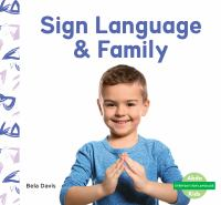 Sign language & family Book cover