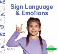 Sign language & emotions Book cover