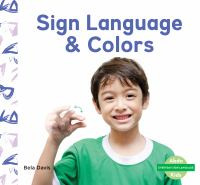 Sign language & colors Book cover