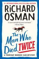 The man who died twice Book cover