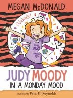 Judy Moody in a Monday mood Book cover