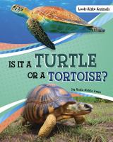 Is it a turtle or a tortoise? Book cover