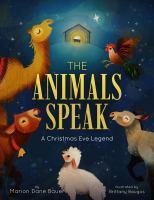 The animals speak Book cover