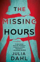 The missing hours Book cover
