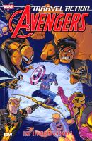 Marvel action Avengers : the living nightmare Book cover