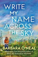 Write my name across the sky : a novel Book cover